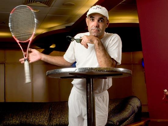 גלעד בלום, טניס / צלם: קובי קלמנוביץ'